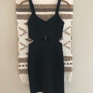 Black Cutout H&M Formal Dress